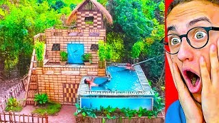 They Built The GREATEST POOL HOUSE VILLA IN THE WORLD!