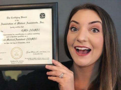 Medical Assistant - Let's get Certified 2017 UPDATE!