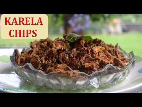 Kurkure Karela Chips Recipe | Bitter Gourd Chips Karela Fry | bitter melon chips I  tamil recipes