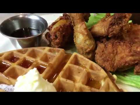 Yummy 'Honey Stung Fried Chicken and Waffle' @ EliosDining.com By Playback.net