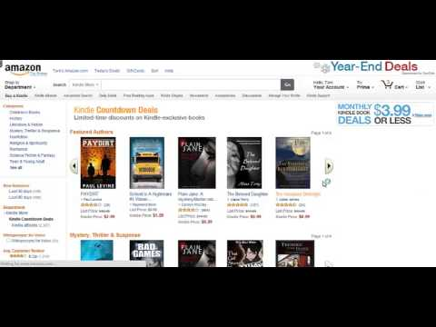 Video #3 for TCK Publishing Clients: Kindle Countdown Deals vs. Free Book Promotions
