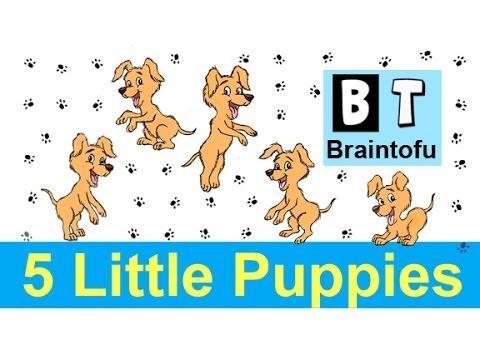 5 LITTLE MONKEYS JUMPING ON THE BED - children's nursery rhyme  music - baby songs