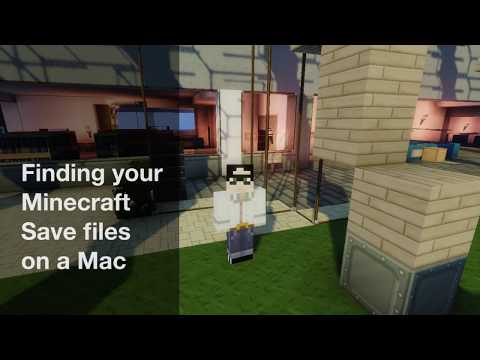 How to find Java Minecraft save files on a Mac