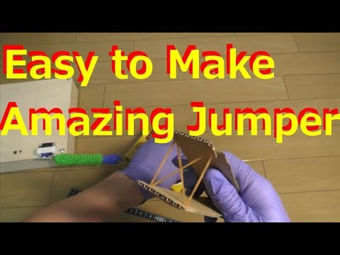 [Easy to Make] Amazing Paper Jumper