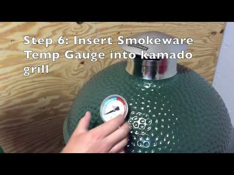 How To Install A Smokeware Temperature Gauge