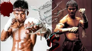Buakaw VS TONY JAA!    2 OF THE MOST BAD-ASS BUDDHIST MONKS Show Muay Thai Kickboxing Techniques☯!
