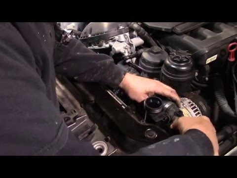 2003 BMW water pump replacement how-to