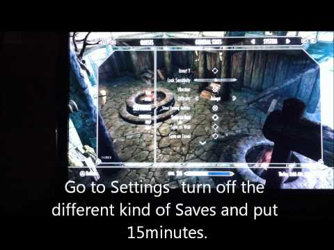Skyrim- How to make Loading screens faster! SUPER FAST