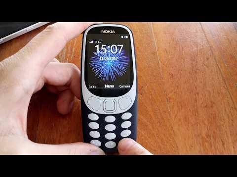 Nokia 3310 (2017) - Browsing trough the UI