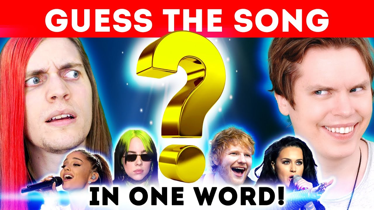 Guess The Song From Just One Word (w/ Boyinaband)