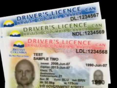 B.C.'s new Driver's Licence and Identification cards.mp4