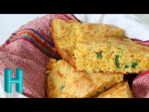 How to Make Jalapeño Cornbread     Hilah Cooking