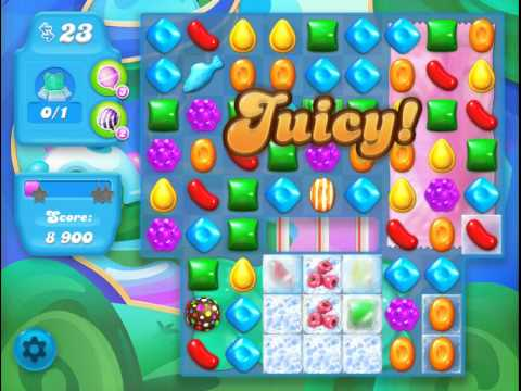 Candy Crush Soda Saga Level 235 (nerfed)