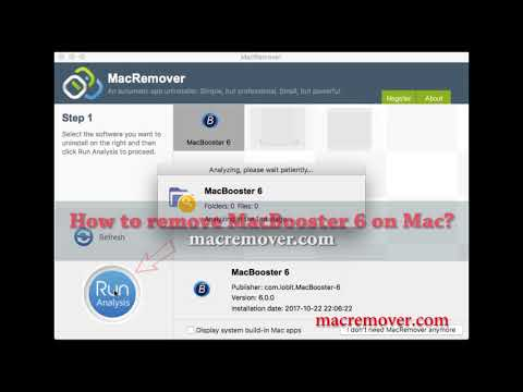 How to Remove MacBooster 6 on your macOS and Mac OS X?