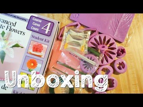 Wilton Course 4 Kit Unboxing