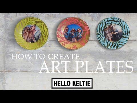 How To Create Art/Photo Plates