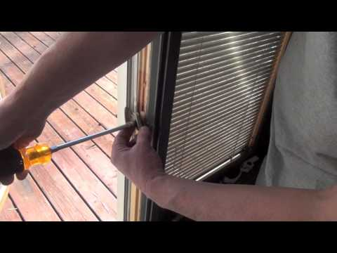 How to Replace the Lock in a Pella Casement Window
