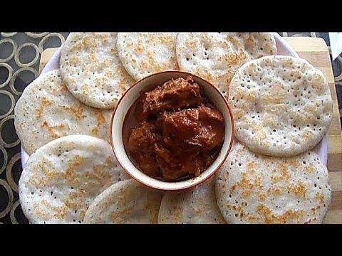 Vellayappam recipe without yeast [Kerala Appam] വെള്ളയപ്പം  - chinnuz' I Love My Kerala Food