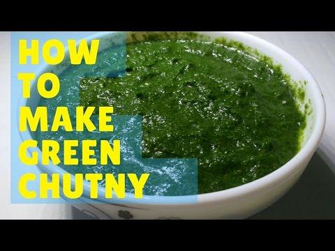 ग्रीन चटणी । चाट  ग्रीन  चटणी  |  भेळ ,पाणीपुरी,समोसा ,वडा Green Chutney  |  Recipe By Anita Kedar