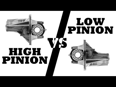 Low Pinion vs High Pinion - What's The Diff?