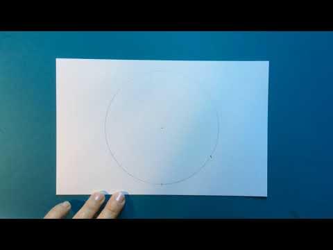 Basic Tutorial  -1-  Simple 6 Sections Mandala Grid