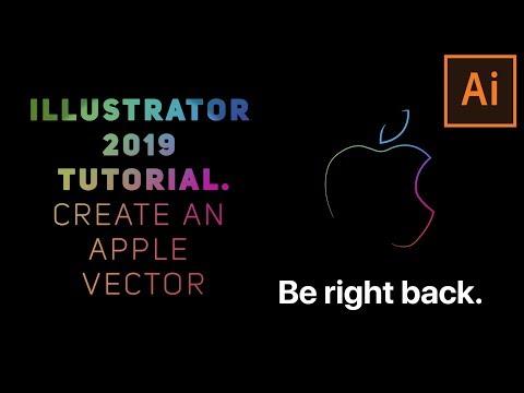 Adobe Illustrator 2019 Tutorial: Create an Apple Vector