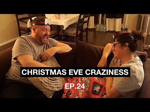 CHRISTMAS EVE CRAZINESS!!! // Vlogmas Ep.24