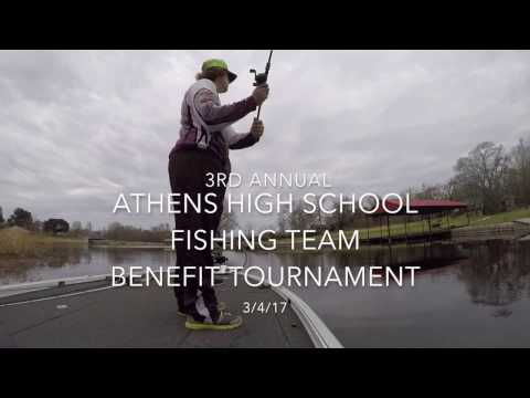 3rd Annual Athens High School Fishing Team Benefit Tournament