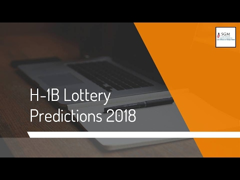 H-1B Lottery Predictions 2018