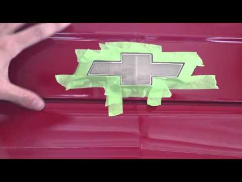 How to Paint Your Chevy Symbol Black for Under $10 - Do It Yourself Full Guide
