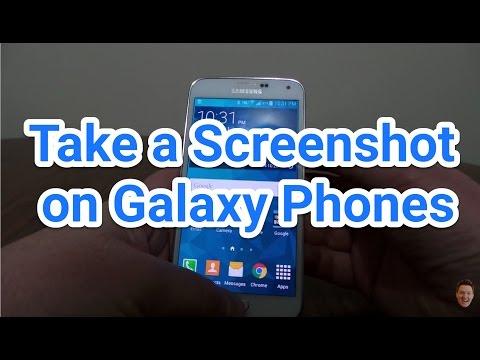 Take a Screenshot on Samsung Galaxy S5, S6, S7