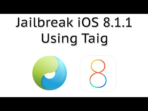 How to Jailbreak iOS 8.1.3/8.1.2/8.1.1 Using Taig (Untethered) iPhone, iPod touch & iPad