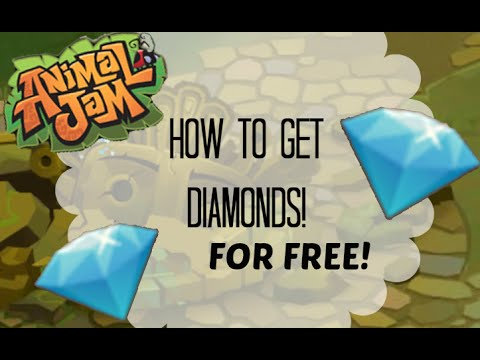 Animal Jam: How to Get Free Diamonds!