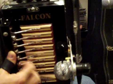 Falcon accordion Bayou Teche in C