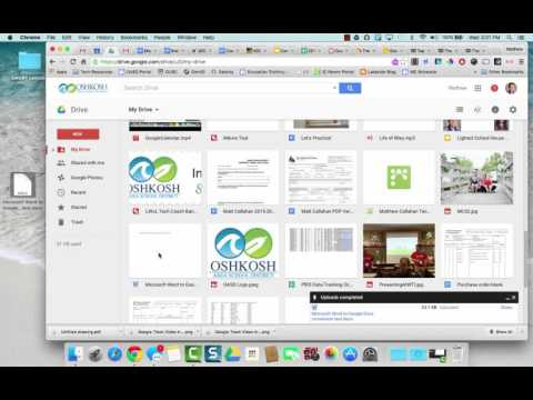 Converting Documents to Open With Google Docs