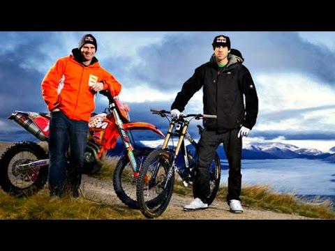 ENDURO vs MTB Downhill || David Knight vs Gee Atherton BEST RACE !! 2015