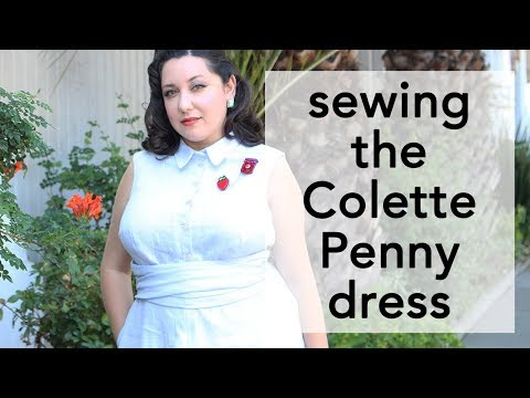 Tips for Sewing the Colette Penny Dress   Vintage on Tap