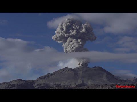 Sabancaya Volcano, Peru  - Worlds Highest Erupting Volcano in 21st Century.