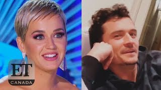 Orlando Bloom Watches Katy Perry Flirt On 'American Idol'