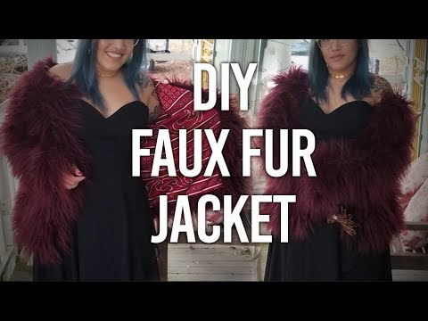 How to Make - Faux Fur Jacket : DIY