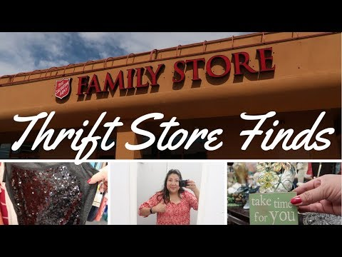 Thrift Store Finds and Haul ~ May (Las Vegas)