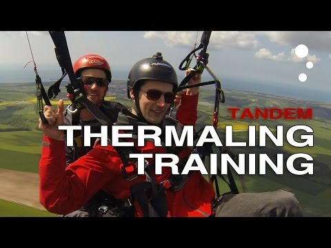 Paragliding XC Secrets: Get Tandem Thermaling Training