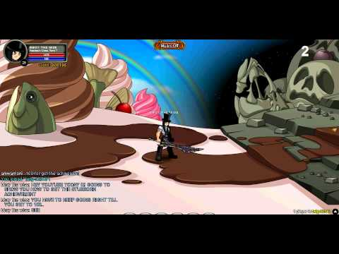 AQworlds- how to get stubborn badge