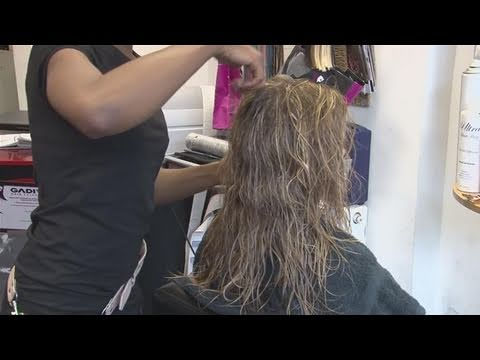 How To Do A Scrunch On Straight Hair