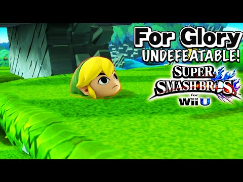 I LOVE THIS CHARACTER   Undefeatable! ~ Toon Link Ep. 6 - Super Smash Bros for Wii U (For Glory)