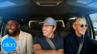 Ellen, tWitch, and Andy Take the Talk Show on to Road