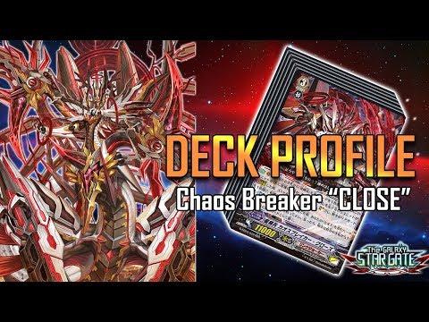 Cardfight!! Vanguard Deck Profile : Chaos Breaker