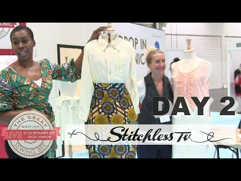 Great British Sewing Bee Live Day 2 with Chinelo & Tamara