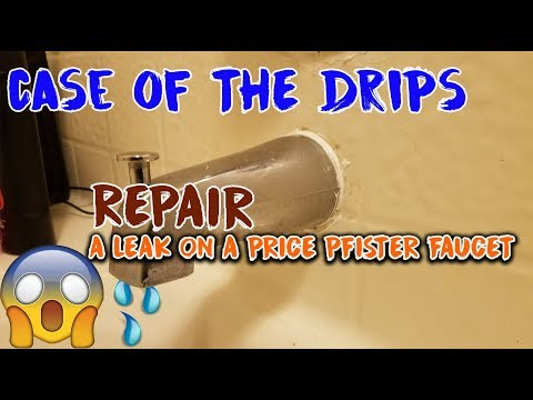 How to Repair a PRICE PFISTER Cartridge Avante for single handle shower/tub valve