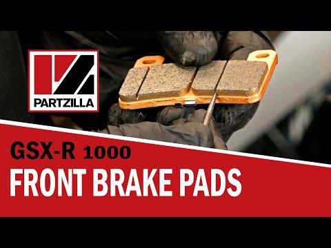 How to Change Front Brake Pads: Suzuki GSXR 1000 | Partzilla.com